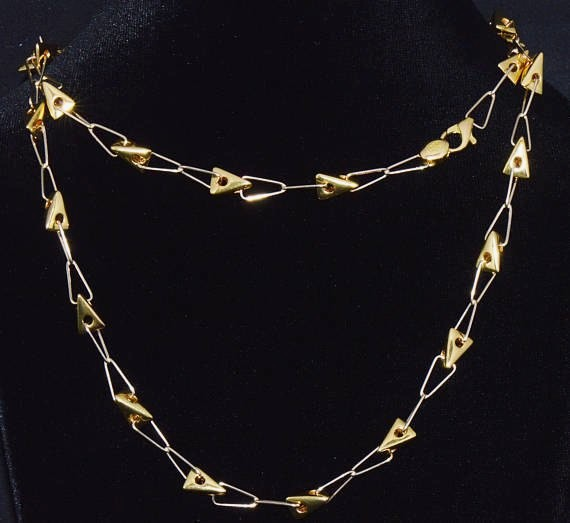 18K Solid Gold Necklace – Exotic Gold Jewelry