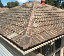 Repointed roof.