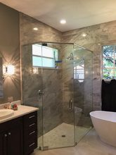 CUSTOM tub and shower enclosures