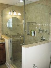 Frameless Shower Enclosures - Ashe Glass & Mirror Inc