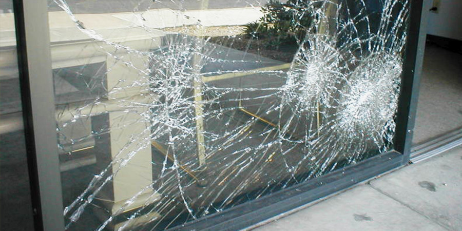 Glass Storefront Door Installation & Replacement | Ashe Glass & Mirror Inc