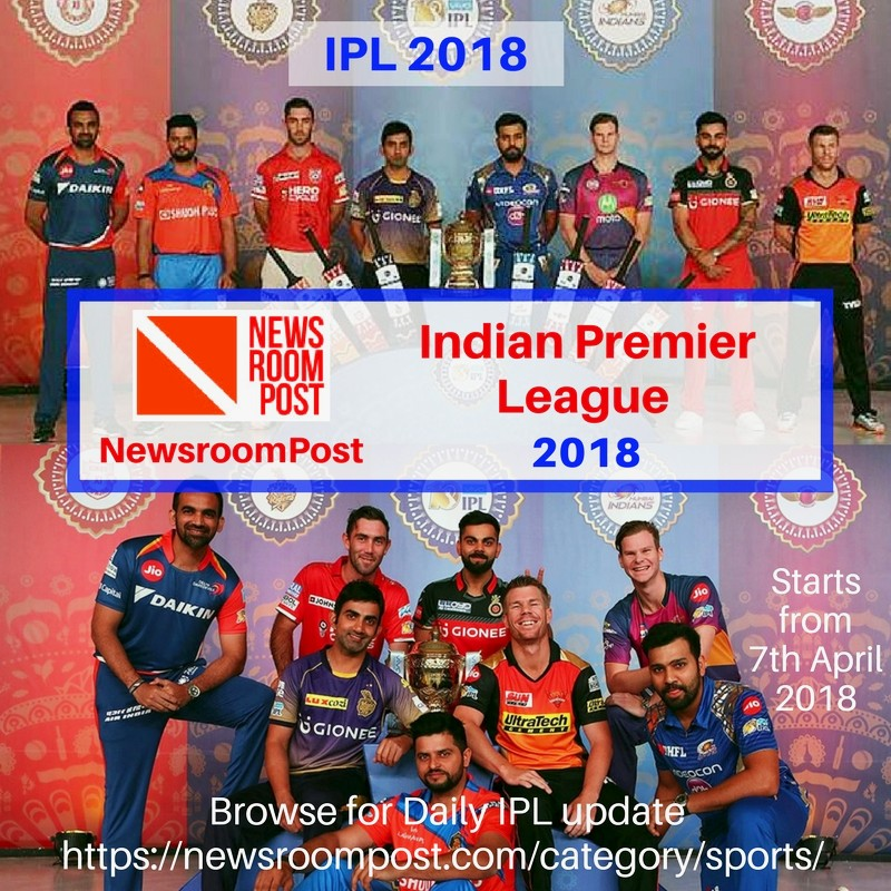 Indian Premier League 2018 - IPL 2018 -  NewsroomPost.jpg