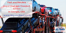 Fast and Reliable Honest Haul Auto Transport Services in Marietta, GA, USA