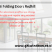 Bi folding doors Redhill