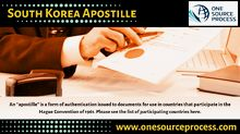 South Korea Apostille