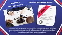 Subpoena Process Server