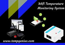 Wifi Temperature Monitoring System