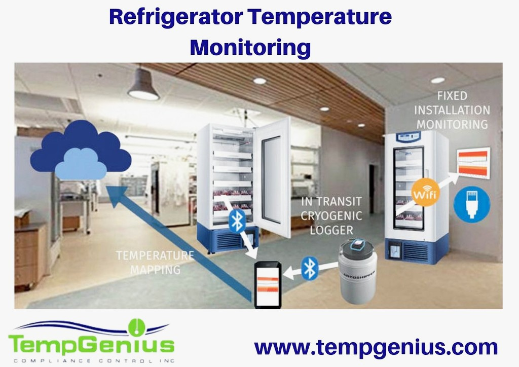 Refrigerator Temperature Monitoring