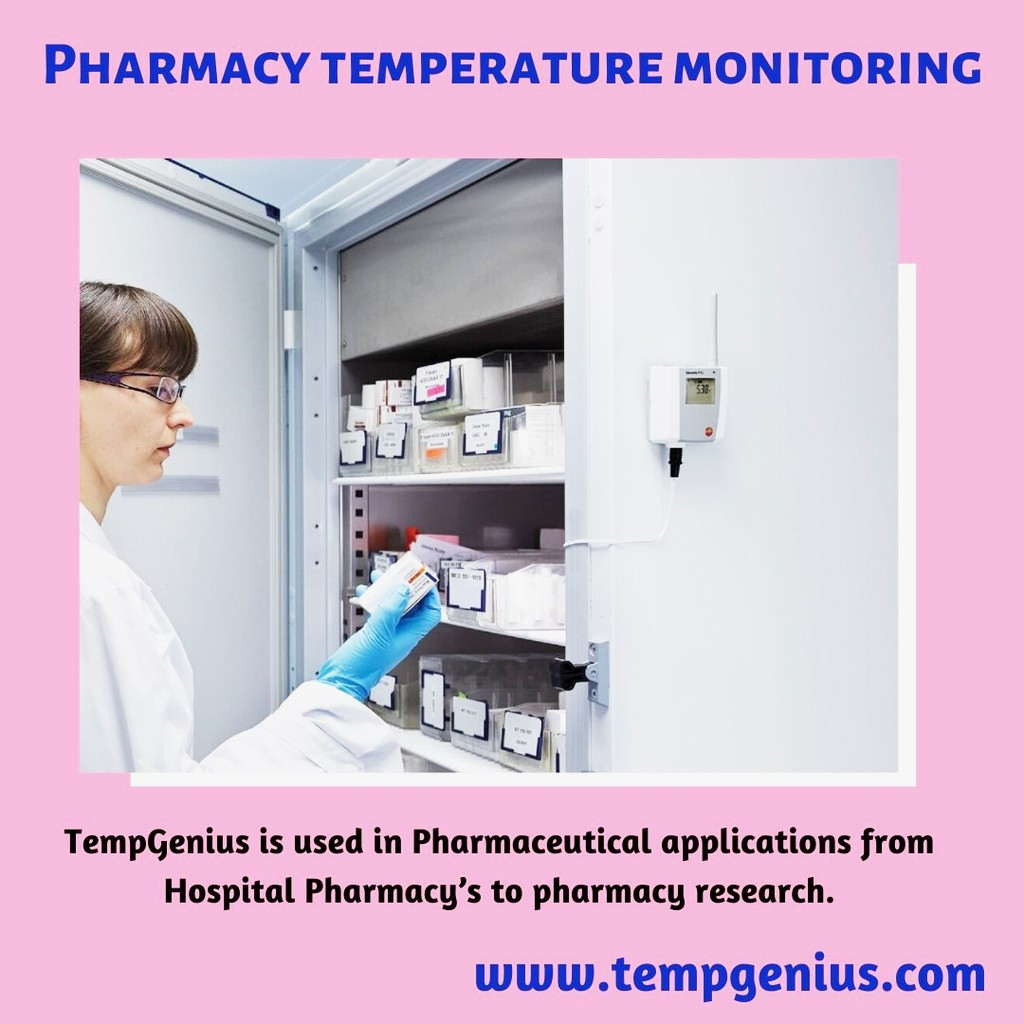 Pharmacy Temperature Monitoring