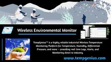 Wireless Environmental Monitor